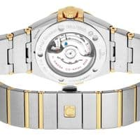 OMEGA Constellation Yellow Gold Automatic Ladies Watch 123.20.31.20.08.001